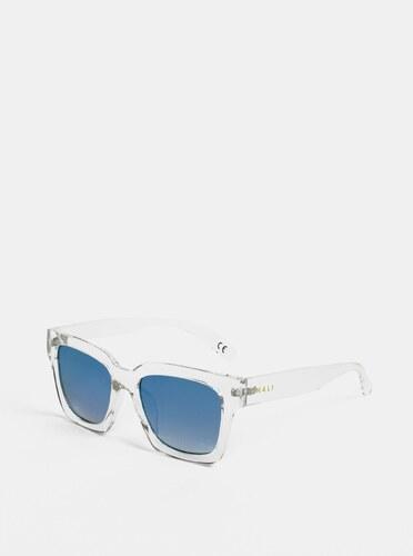 Svetlosivé transparentné slnečné okuliare Nalí - Glami.sk cbe4b68f157