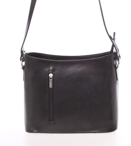 Malá čierna kožená crossbody kabelka - ItalY Madora čierna - Glami.sk aa568aadaeb