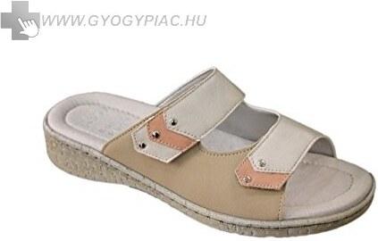Scholl Palmyra női bézs papucs ütéscsillapító Memory Cushion talppal  37-38 4782139520