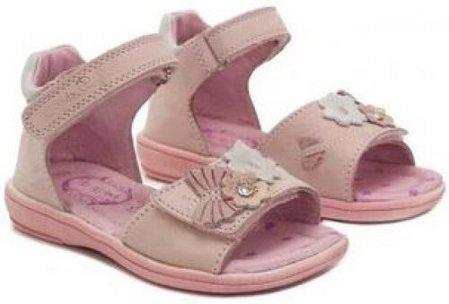 54ec9cf69999 D.D.STEP dievčenské kožené sandále K03-3004AM daisy pink - Glami.sk