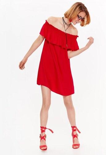 Top Secret šaty dámské červené s odhalenými rameny - Glami.cz 157e8d1bf8