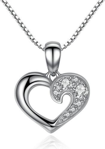 5bf1324c5 Royal Fashion náhrdelník Srdce lásky SCN028 - Glami.cz