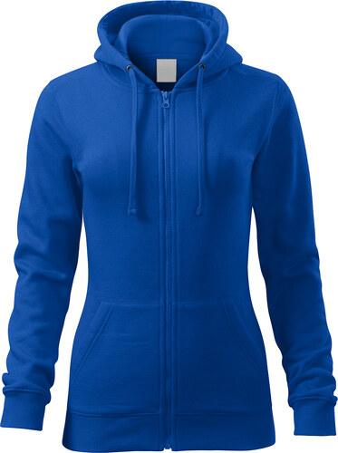 The SHE Kráľovsky modrá dámska mikina s vreckami a kapucňou - Glami.sk c57f315a031