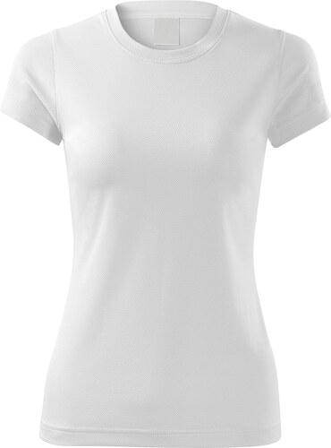 bb8aa4da407e The SHE Biele športové dámske tričko - Glami.sk