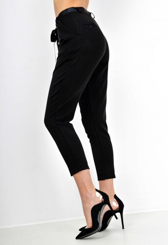 2a3006c8a4 The SHE Čierne elegantné dámske nohavice - Glami.sk