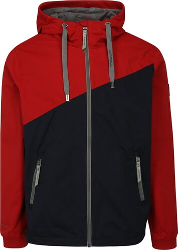 Modro-červená pánska bunda s kapucňou Ragwear Nugget - Glami.sk 70ad8f682fd