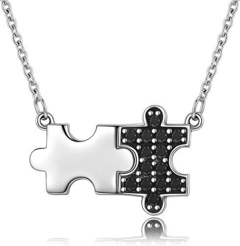 0e24cea81 Royal Fashion náhrdelník Puzzle SCN129 - Glami.cz