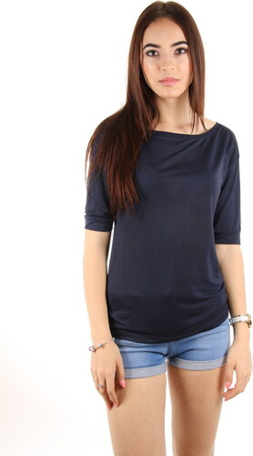 Tommy Hilfiger dámské tmavě modré tričko Charlie - Glami.sk ae6007a191