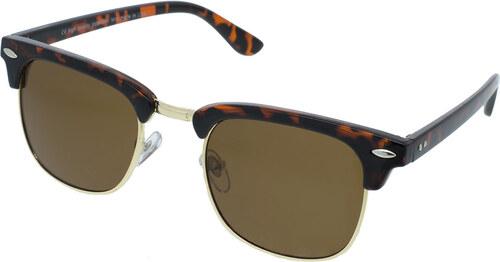8cee505cf revex Polorámové slnečné okuliare Counter žíhané hnedé rámy hnedé sklá