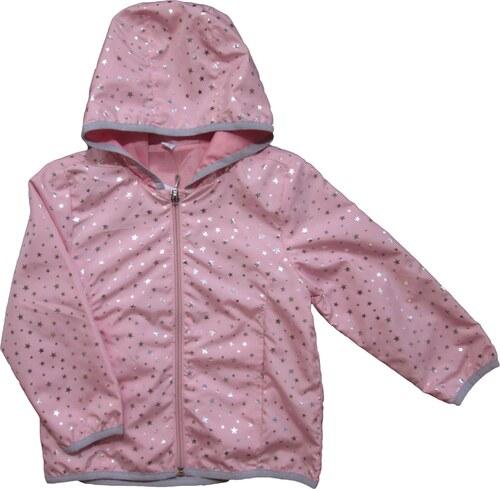 Carodel Dievčenská bunda s hviezdičkami - ružová - Glami.sk 16cc8f4747e