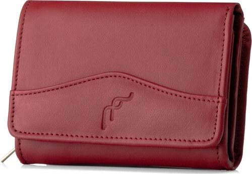 b996bf816a Elegantná červená dámska kožená peňaženka značky FELICE (P18 RED ...