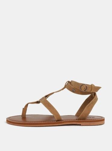 Hnedé dámske sandále Roxy Soria - Glami.sk 26c2b8b0b5