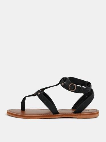 Čierne dámske sandále Roxy Soria - Glami.sk f8f4b855c4