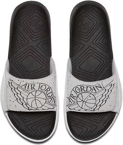 d487d2203cfce Šlapky Air Jordan Hydro 7 Grey White Black - Glami.sk