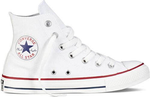 Converse Dámske členkové tenisky Chuck Taylor All Star Optic al White 47bbac583da