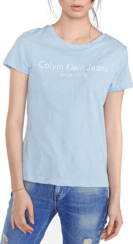 7a7a5dab8097 Calvin Klein Tamar-49 Tričko Modrá - Glami.sk