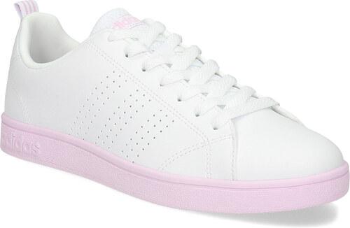 c8f69fff14d Adidas Dámské bílé tenisky s růžovou podešví - Glami.cz