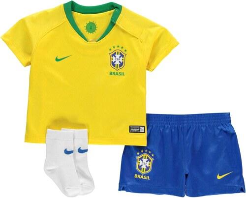 b22b01f26bee Detské oblečenie Nike Brazil Home Baby Kit 2018 - Glami.sk