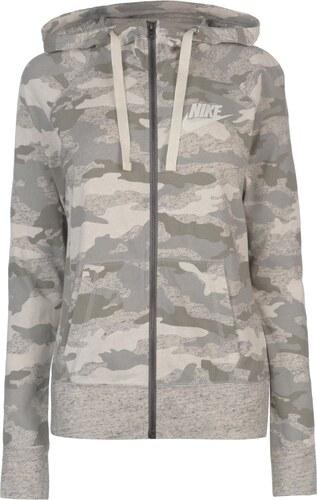 Nike Camo Fully Zipped dámská mikina Grey Blue - Glami.cz 4c115f15b14