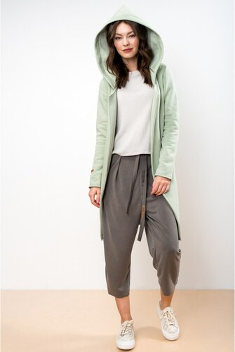 4b91261a065c Lull Loungewear Dámsky svetlozelený kardigán Lull Fame