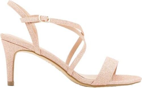 78a65f546c NEW LOOK Glitrové sandálky na nižšom podpätku - Glami.sk