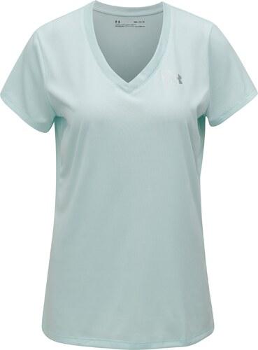 Mentolové dámske funkčné tričko Under Armour Solid - Glami.sk 75e93cb3f5d