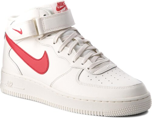 Topánky NIKE - Air Force 1 Mid  07 315123 126 Sail University Red ... 5535abd19e4