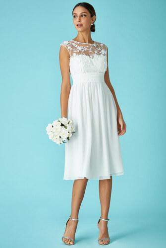 0bf4ff137c0 CITYGODDESS Společenské šaty Divine krátké bílé - Glami.cz