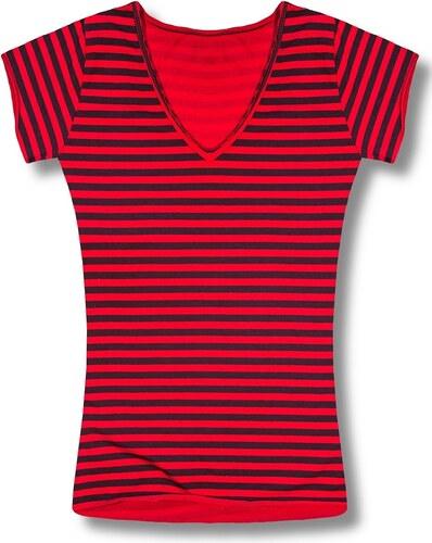 MODOVO Dámske tričko 9623 červené - Glami.sk b0274c16b84
