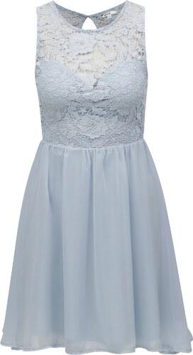 c97df959149 Světle modré šaty s krajkovým topem TALLY WEiJL - Glami.cz