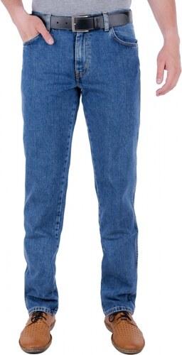 Pánské jeans WRANGLER W12105096 TEXAS VINTAGE STONEWASH Modrá - Glami.cz c845648d0a
