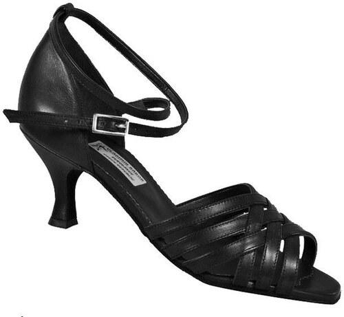 Taneční boty BÁBOR L3 kůže černá podpatek 5 cm - Glami.cz 6c533d14c8