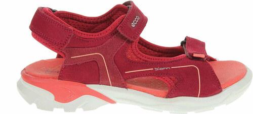 e108dce16ba0 -18% Ecco Biom Raft dívčí sandály 70063251082 brick-chile red-spiced coral  70063251082