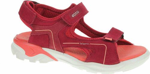 da41a8ef091f Dívčí sandály Ecco Biom Raft 70063251082 brick-chile red-spiced coral  70063251082