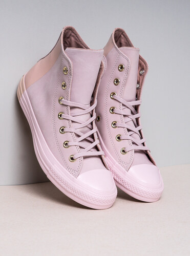 7e363cfc95 Dámske svetlo-ružové tenisky Converse Chuck Taylor All Star Hi ...
