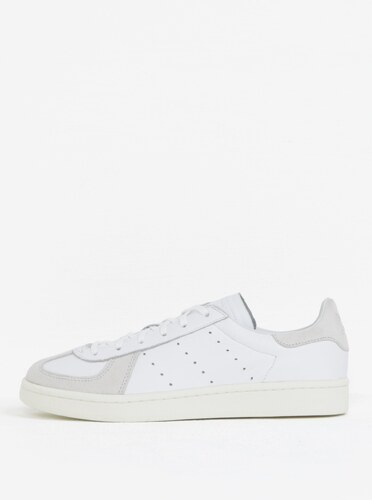 Biele pánske kožené tenisky adidas Originals Avenue - Glami.sk cbf6b5c8480