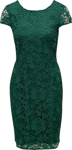 fab1eeecea6c Zelené čipkové puzdrové šaty Dorothy Perkins - Glami.sk