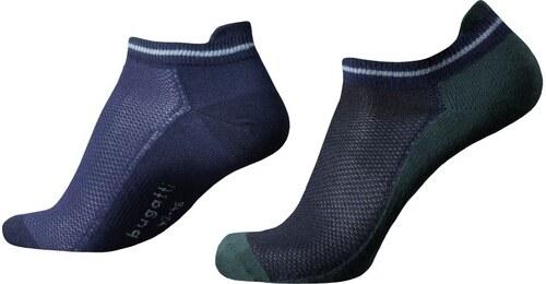 Pánske ponožky Bugatti Sneaker Flexity (2 páry) - Glami.sk 4b6dd2871c