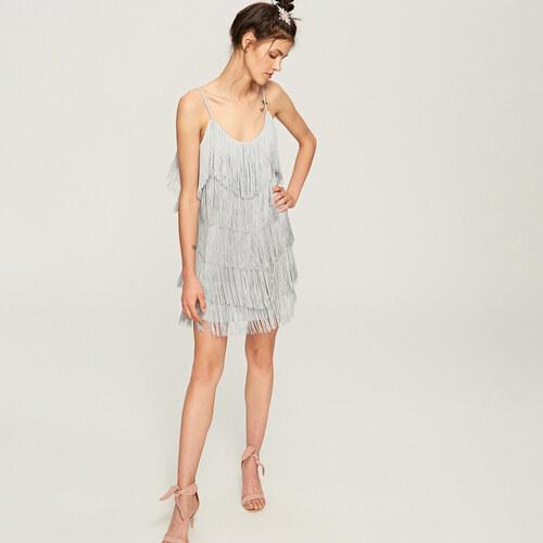 Reserved - Šaty so strapcami - Viacfarebn - Glami.sk f22c22f3271