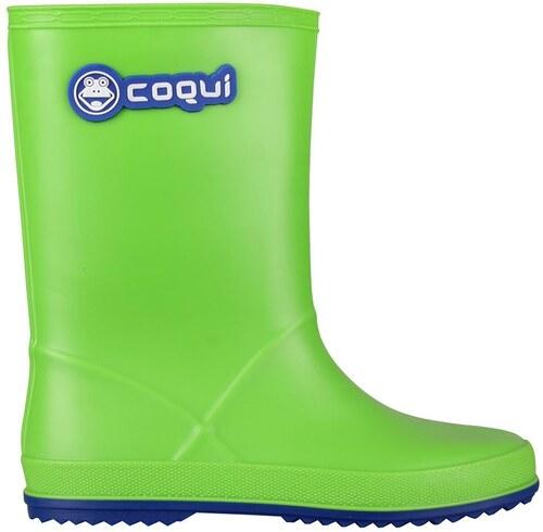 d1ff9fc8f011 Coqui Chlapčenské gumáky Rainy - zelené - Glami.sk