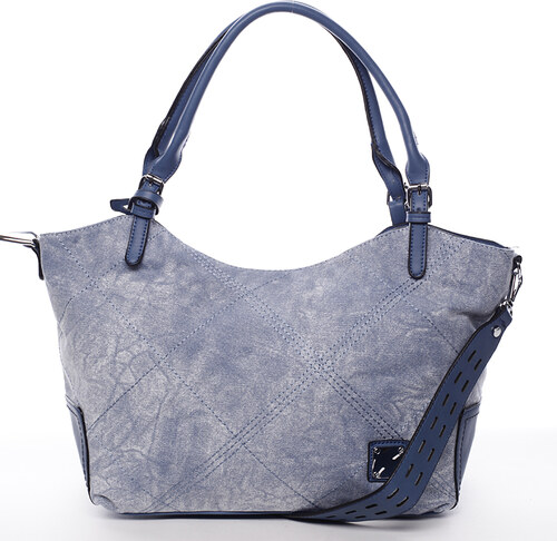 Módna dámska kabelka modrá - MARIA C Myrtis modrá - Glami.sk 029913b1ec3