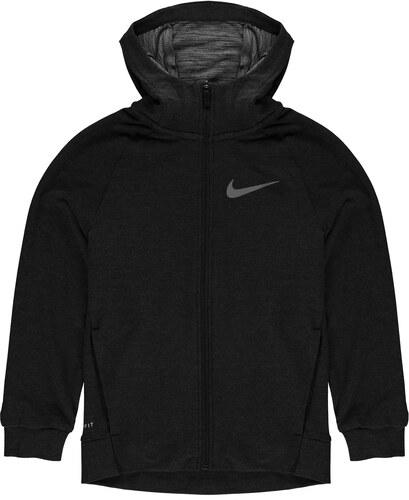 Nike Dri Fit Training dětská mikina Boys Black - Glami.cz f9ee514a1ba