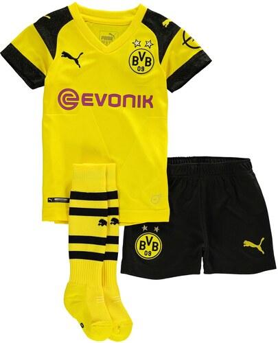 Detské oblečenie Puma Borussia Dortmund Home Mini Kit 2018 2019 ... 67257d4884e