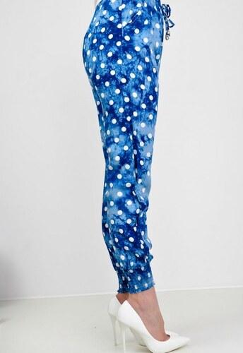 0d0046cb15bf The SHE Nebesky modré dámske hárem nohavice s guličkami - Glami.sk