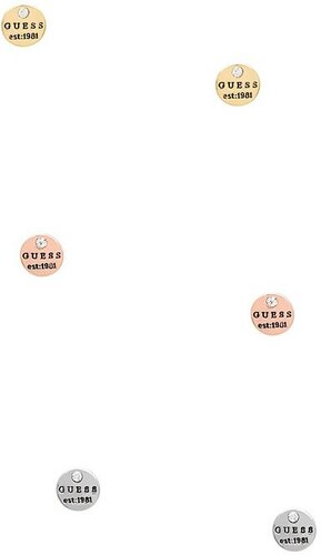 4f2b77f00 GUESS náušnice Tri-Tone Logo Button Stud Earring Set. - Glami.sk