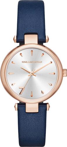 c7800947f7 Karóra KARL LAGERFELD - Aurelie KL5007 Rose Gold/Rose Gold - Glami.hu