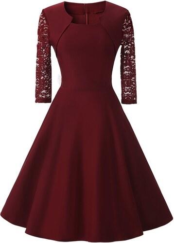 Dámské společenské šaty Daniah červené - červená 23646fe1ea
