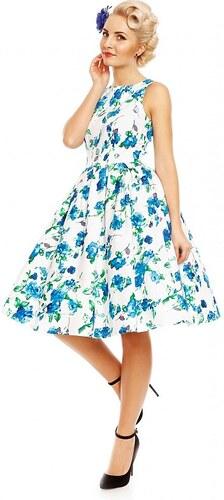 Bílé šaty s modrými květy Dolly and Dotty Annie - Glami.cz f647f53bcb