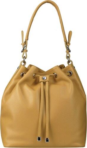 97582ad795 Wojewodzic luxusná kožená kabelka do ruky žltá 31721  - Glami.sk