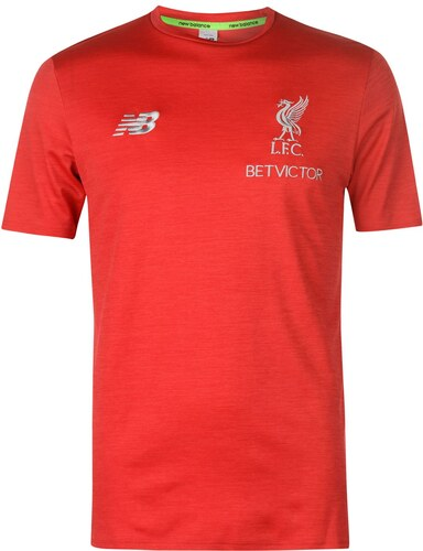 Tričko New Balance Liverpool Leisure T Shirt 2018 2019 Mens - Glami.sk 4c653c5218
